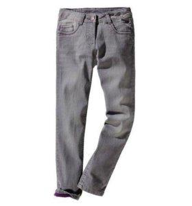 Новые утепленные джинсы на девочку