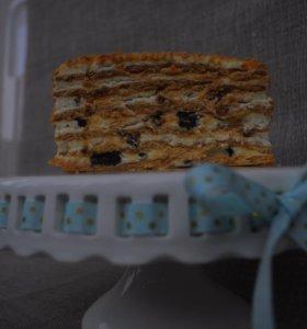 Торты и домашняя выпечка на заказ