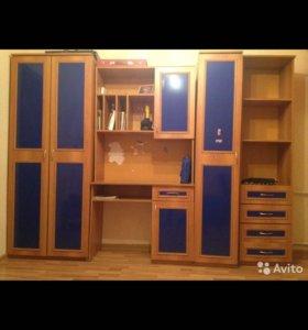 Шкаф письменный стол в детскую