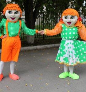Изготовление ростовых кукол.