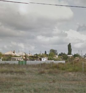 Земельный участок в собственности.