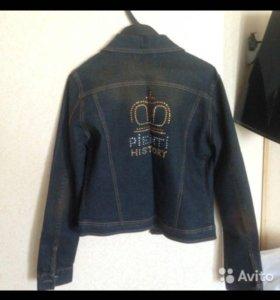 Новая джинсовая куртка женская