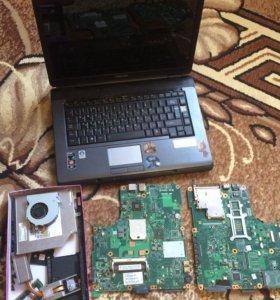 На запчасти ноутбук Toshiba L300D