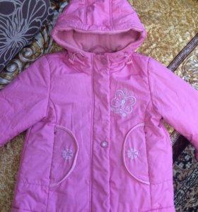 Пальто демисезон 92-98