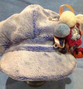 Зимние кепки-шапки