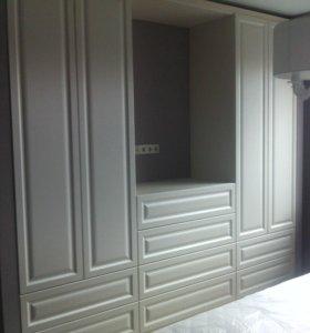 Шкафы-купе, встроенные, корпусные