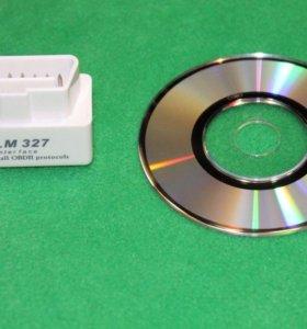 OBD2 ELM327 Bluetooth сканер новый