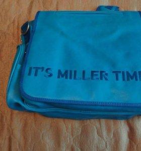 Портфель-ранец кожаный It`s Miller Time новый
