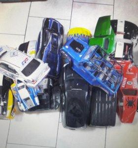 Кузова и корки на р/у модели машин