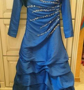 Вечернее платье для девочки в пол