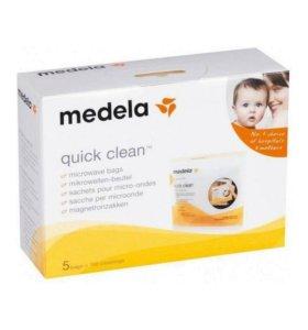 Пакеты для стерилизации в свч Medela
