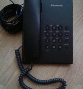 Телефон проводной Panasonic.