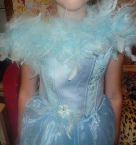 Платье нарядное с корсетом