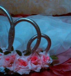 Украшения на свадебные машины