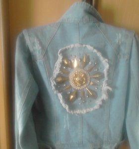Рубашка джинсовая р.44-46