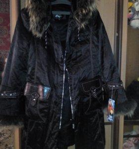 Пальто 1000р и курта 500
