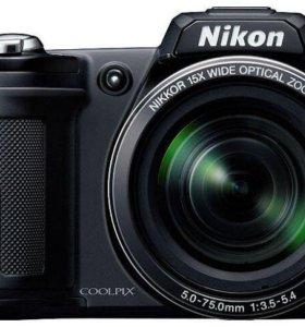 Цифровой фотоаппарат Nikon Coolpix L110 (черный)