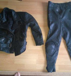 Экипировка на мотоцикл,  женская куртка, штаны