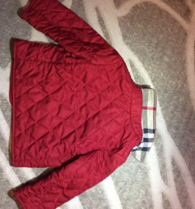 Куртка демисезонная Burberry (оригинал)
