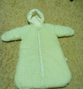 Конверт для новорожденного. Осень-Зима