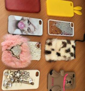 Чехлы на iPhone 4, 4s