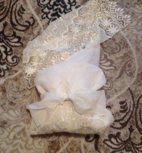 Плед-конверт для новорожденного