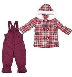 Комплект: куртка, полукомбинезон  Зима