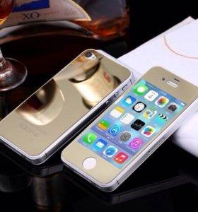 Металлическая защита на iPhone 6