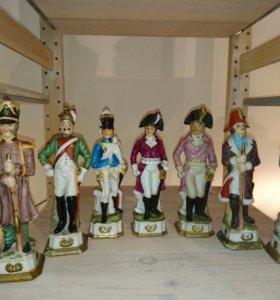 Фарфоровые солдатики