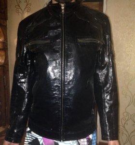 Мужская Лакированная куртка