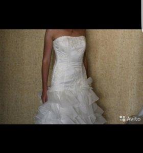 Новое!Свадебное платье 42-44