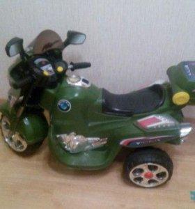 Детский  мотоцикл на аккамуляторе