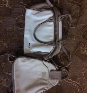 Сумка и рюкзак, каждый по 350 рублей