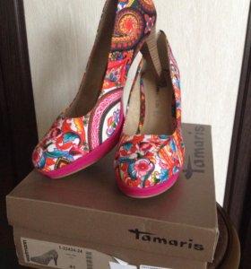 """Туфли """"Tamaris"""" 41 размера."""