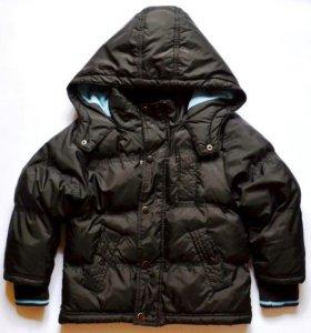Куртка демисезонная с капюшоном, р.110-116