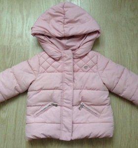 Куртка ZARA baby 6-9 мес 74 см