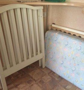 Белоснежная кроватка