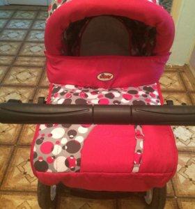 Продам коляску+авто кресло от 0 до13кг
