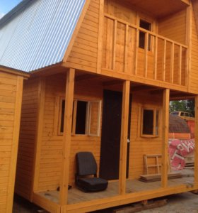 Строительство дачных каркасных домов