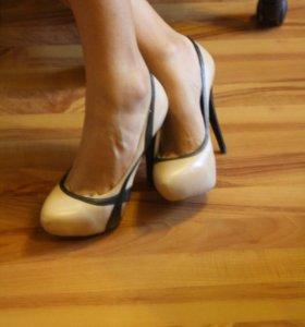 39 р-р туфли кожа