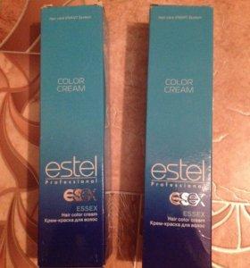2 упаковки профессиональной краски estelEssex 4/65