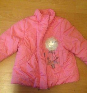 Куртка 122-128 зима