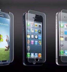Противоударные Защитные Стекла на все Телефоны