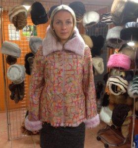 Куртка меховая( кролик)