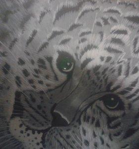 """Картина""""Леопард"""""""