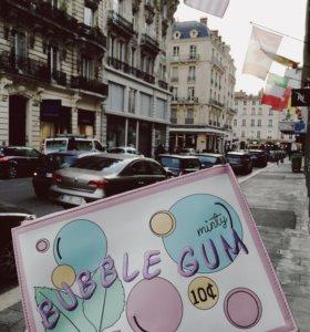 Новый клатч  bubble gum