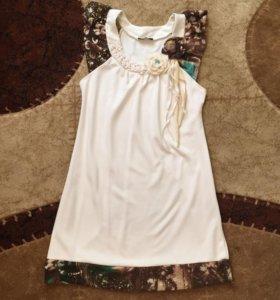 Платье-туника (трикотаж )
