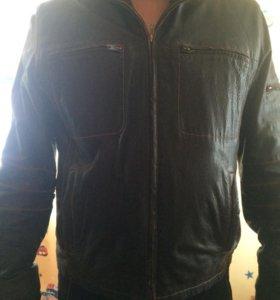 Продам куртку р46-48 Нат кожа внутри мутон