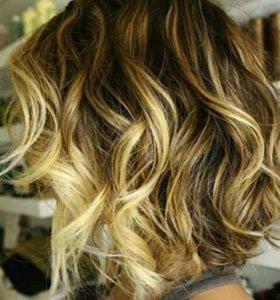 Шатуш и креативное окрашивание волос