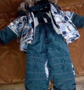 Детский комбинезон зимний на мальчика